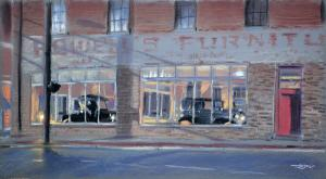 Artist Christopher Reid Wins 2nd In Kinston Plein Air Paint-Out