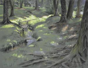 Artist Christopher Reid Wins 2nd In Cary Plein Air Competition